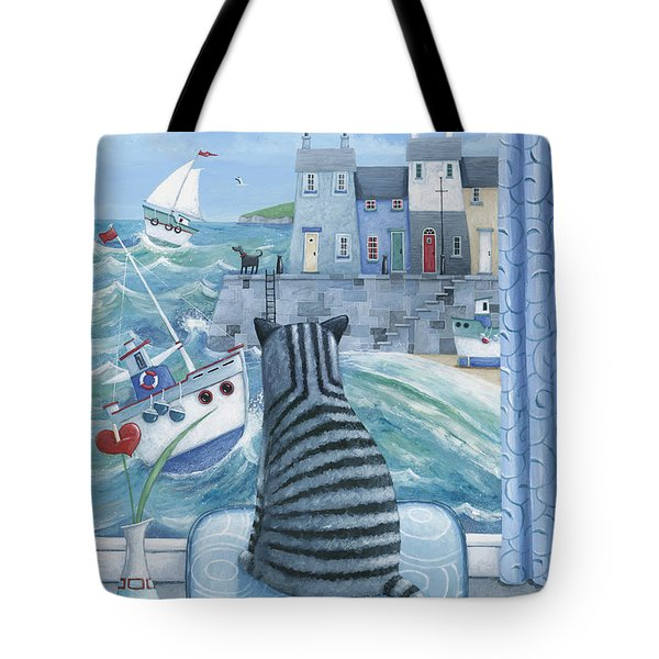 Rather Mew Tote Bag by Peter Adderley
