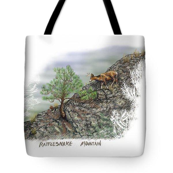 Rattlesnake Mountain Tote Bag