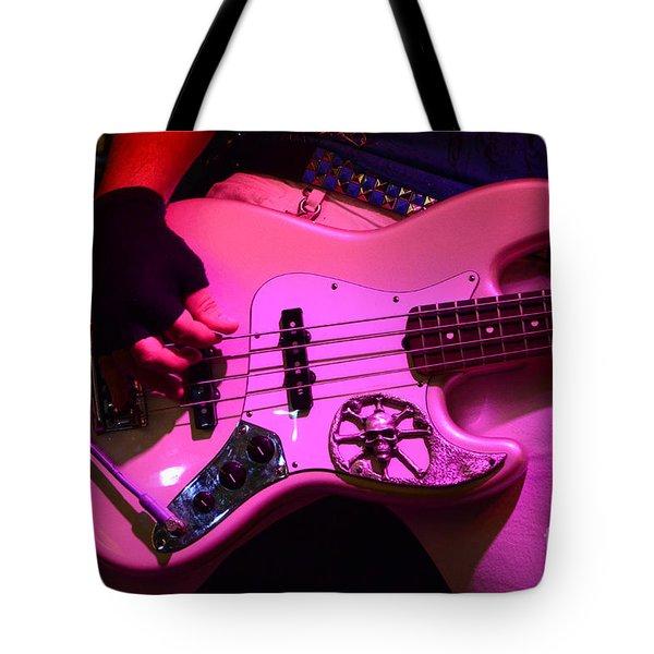 Raunchy Guitar Tote Bag by Bob Christopher