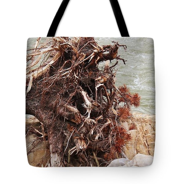 Ravaged Roots Tote Bag