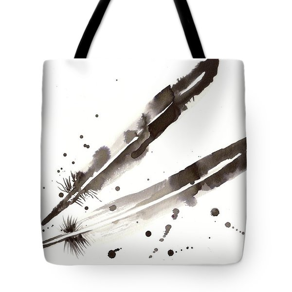 Raven Crow Feathers Tote Bag