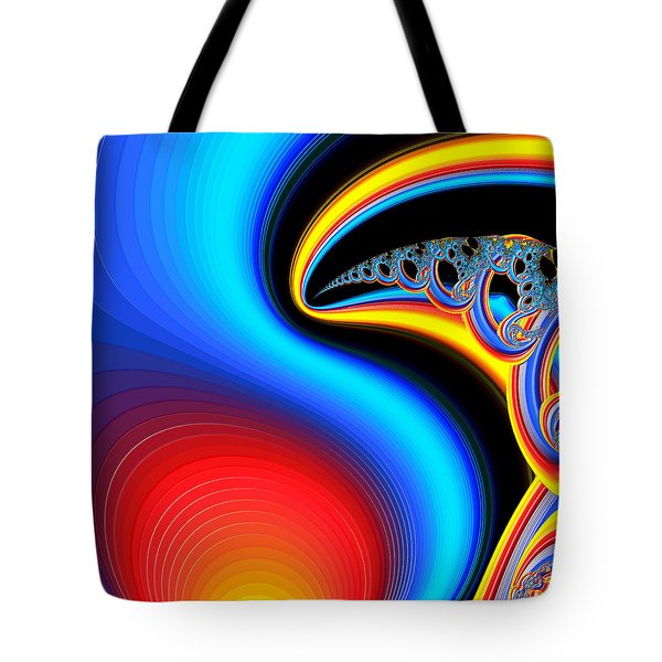 Raven, Dreaming By The Fire Tote Bag