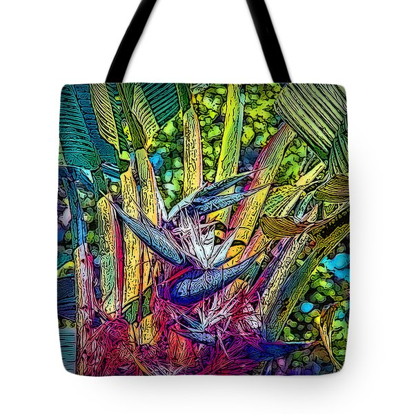 Tote Bag featuring the photograph Ravenala by Hanny Heim