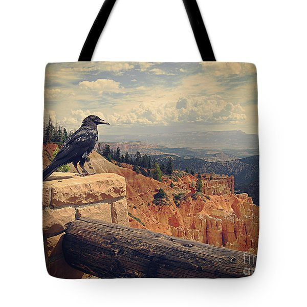 Raven's Eye View Tote Bag