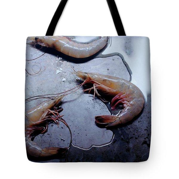 Raw Shrimp Tote Bag
