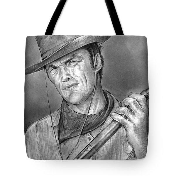 Rawhide Tote Bag by Greg Joens