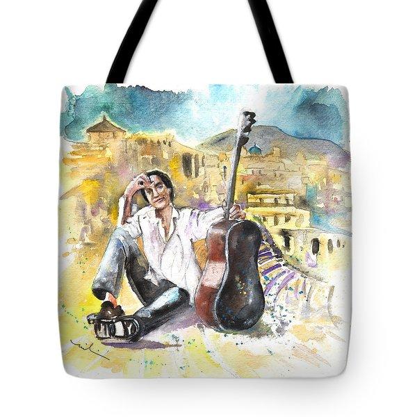 Ray Davies In Cartagena Tote Bag