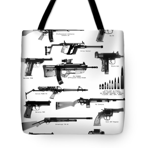 Raygunz Poster Tote Bag by Ray Gunz