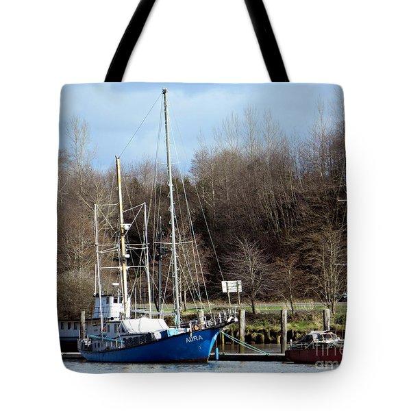 Raymond Fishing Boats Tote Bag
