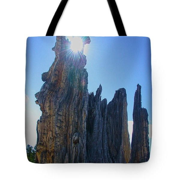 Rays Beyond Tote Bag