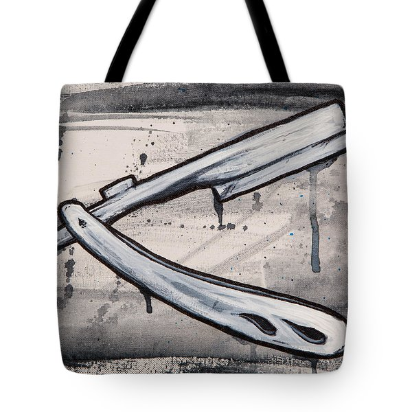 Razor Finish Tote Bag by The Styles Gallery
