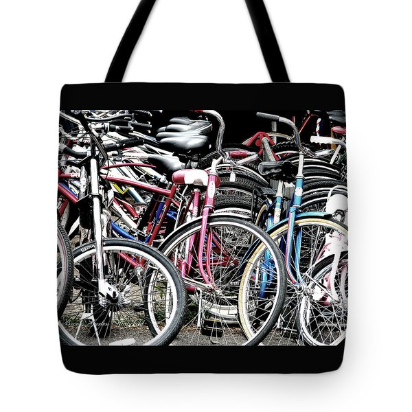 Tote Bag featuring the photograph Re-cycled by Brooks Garten Hauschild
