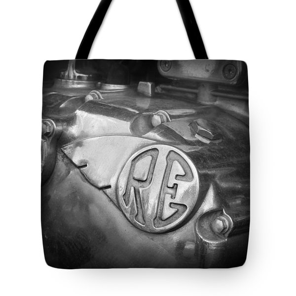 Re Royal Enfield Tote Bag