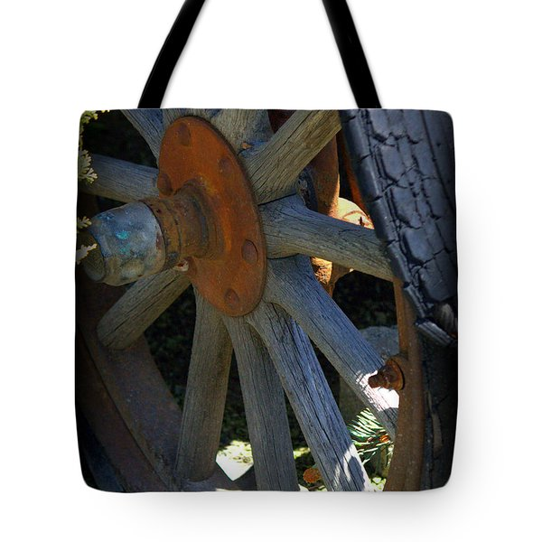 Re-tired Tote Bag