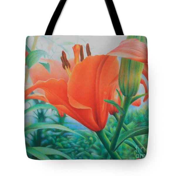Reach For The Skies Tote Bag by Pamela Clements