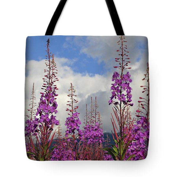 Tote Bag featuring the photograph Reach For The Sky by Cathy Mahnke