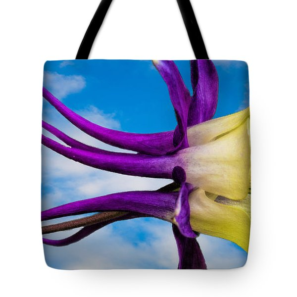 Reach For The Sky Columbine Tote Bag