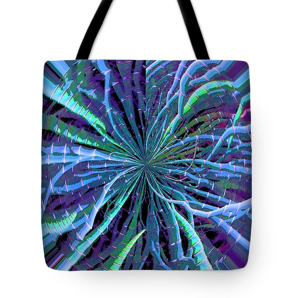 Reach Of The Bamboo Forest Tote Bag by Ann Johndro-Collins