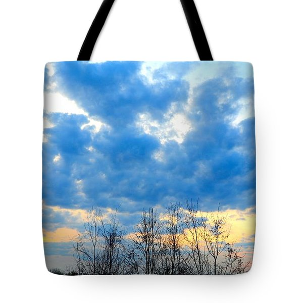 Reach Out And Touch The Sky Tote Bag