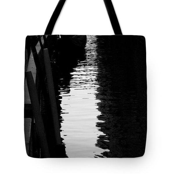Reaching Back - Venice Tote Bag