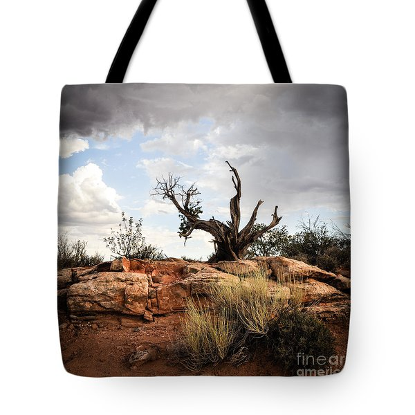 Reaching Tote Bag by Cheryl McClure