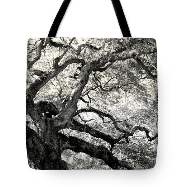 Reaching For Heaven Tote Bag by Karen Wiles