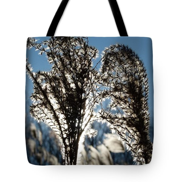 Tote Bag featuring the photograph Reaching Out by Jane Ford