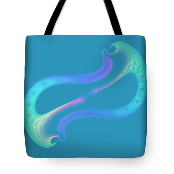 Reaching Out Tote Bag by Judi Suni Hall