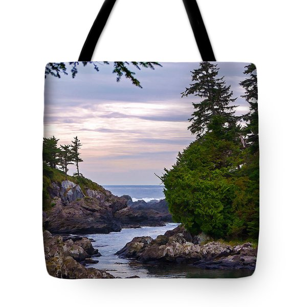 Reaching Out To The Ocean Tote Bag by Jordan Blackstone