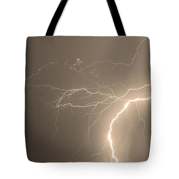 Reaching Out Touching Me Touching You Sepia Tote Bag by James BO  Insogna