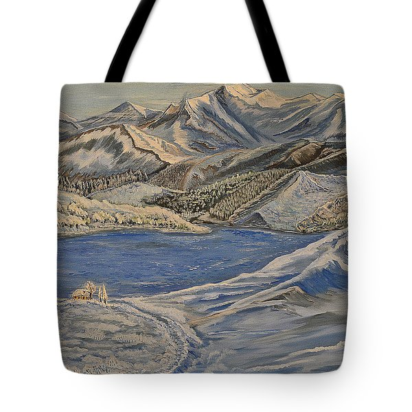 Reaching The Dream - Painting Tote Bag by Felicia Tica