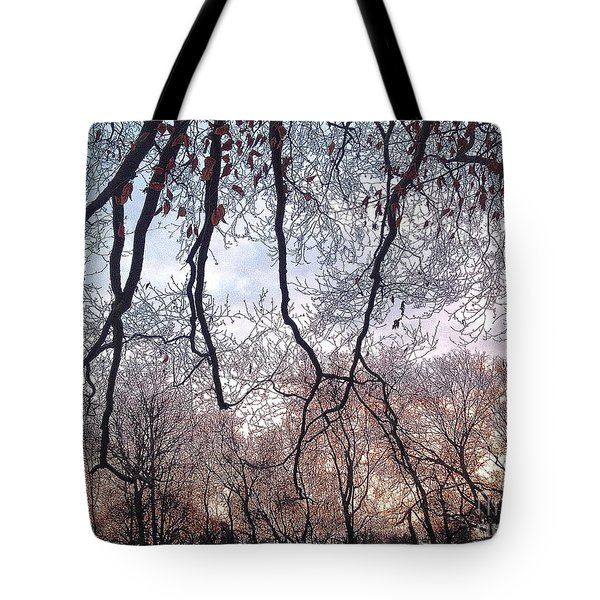 Reaching For Each Others Tote Bag