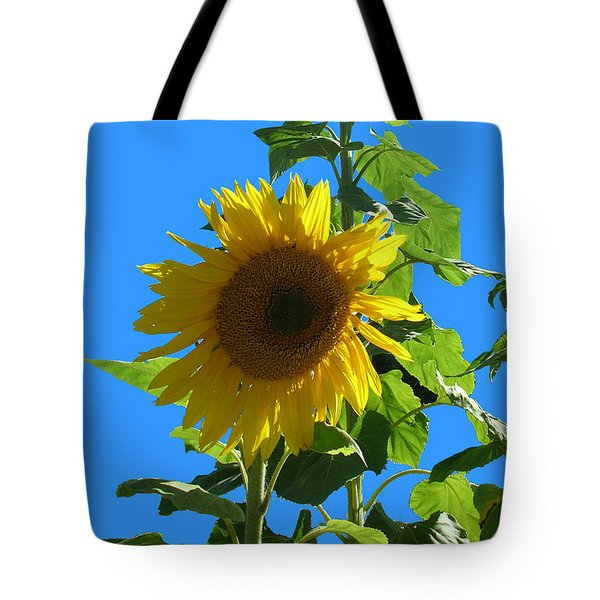 Reaching To The Sky Tote Bag