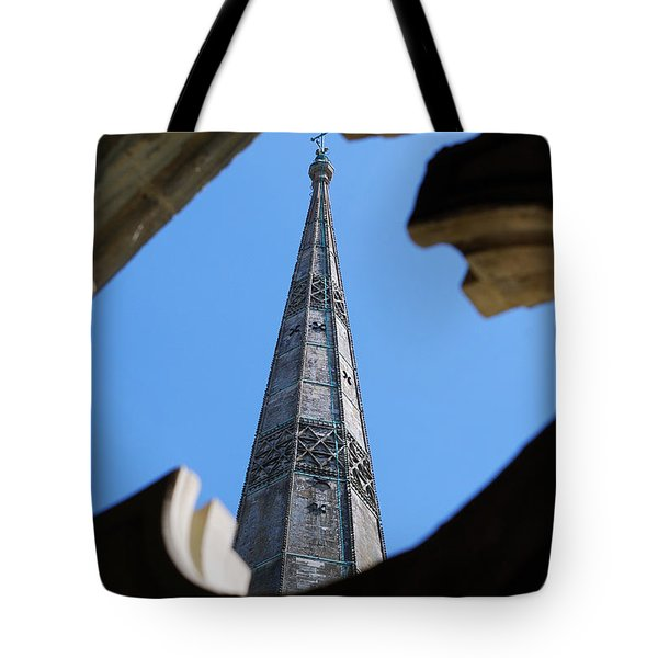 Tote Bag featuring the photograph Reaching Towards Heaven by Wendy Wilton