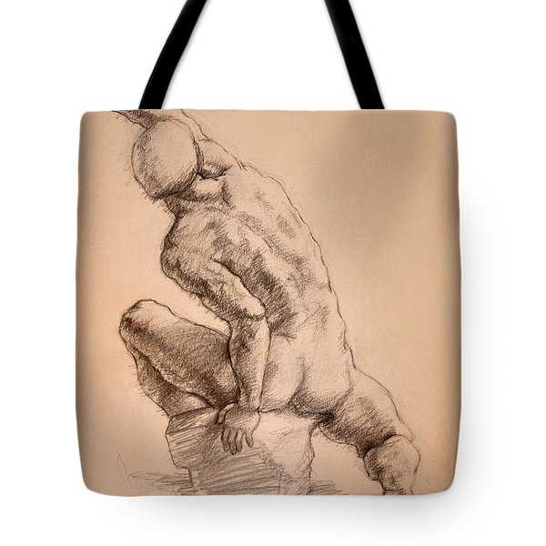 Reaching Up Tote Bag by Sarah Parks