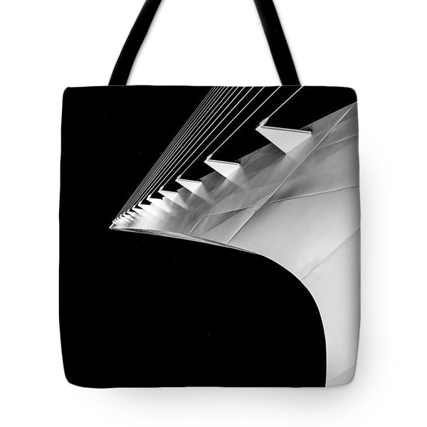 Reading A Sundial At Midnight Tote Bag by Alex Lapidus