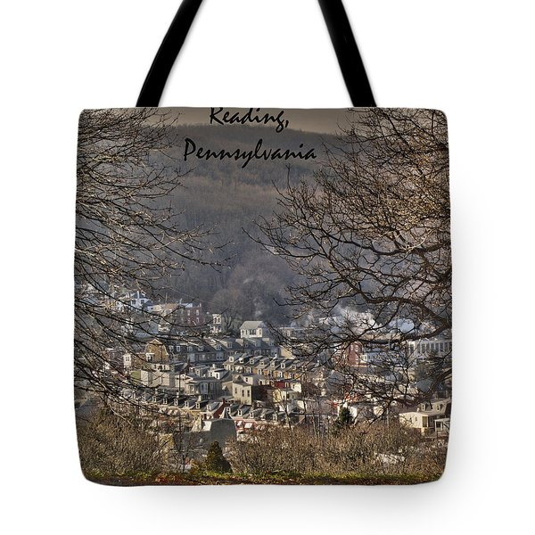 Reading Pennsylvania Tote Bag
