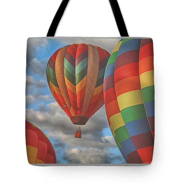 Readington Balloon Fest Media Launch 13 Tote Bag