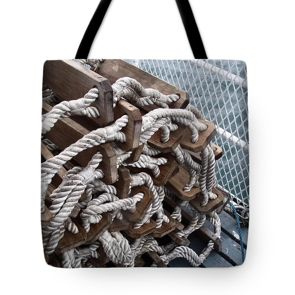 Tote Bag featuring the photograph Ready And Waiting by Cheryl Hoyle