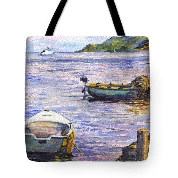 Ready For A Sunset Row Tote Bag by Carol Wisniewski