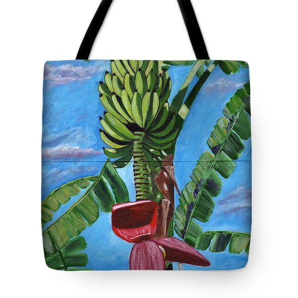 Tote Bag featuring the painting Ready For Harvest by Laura Forde