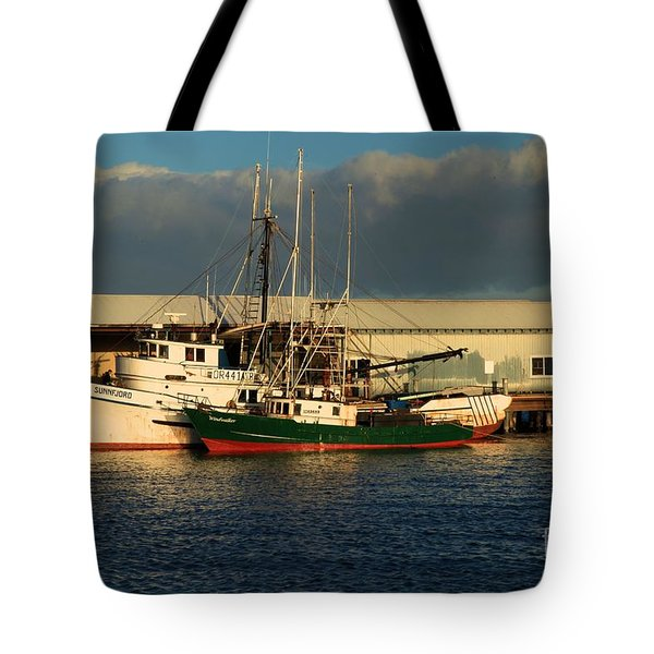 Ready For The Day Tote Bag by Adam Jewell
