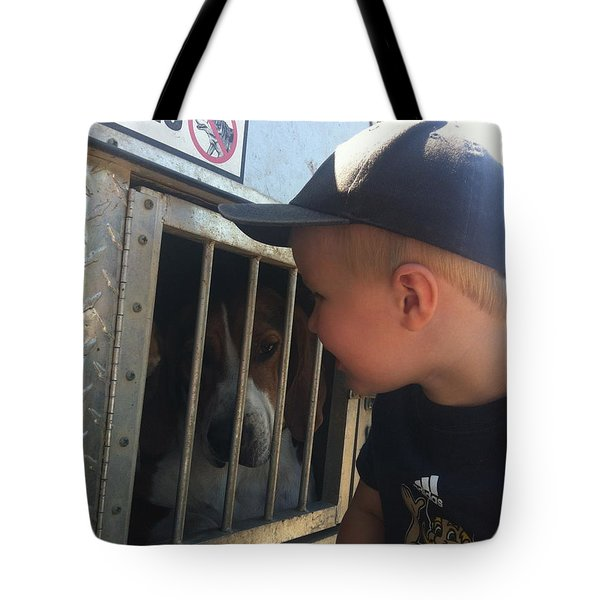 Tote Bag featuring the photograph Ready For The Hunt by Tiffany Erdman