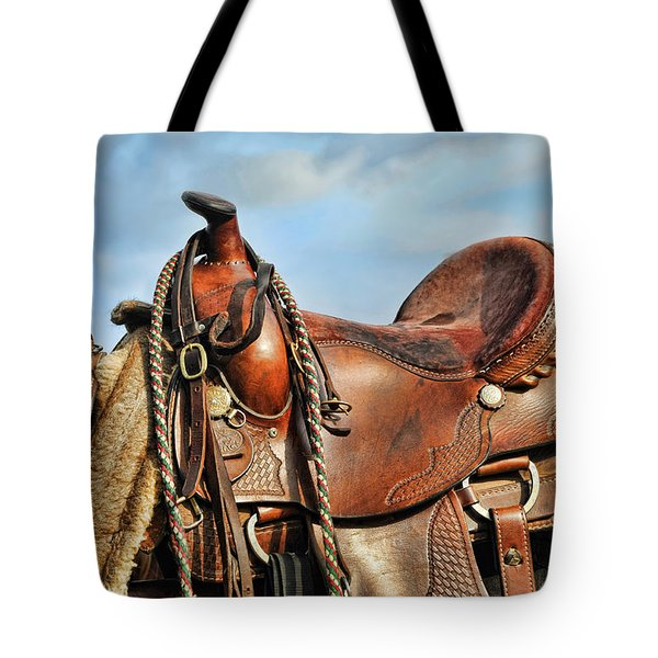 Ready To Saddle Up Tote Bag