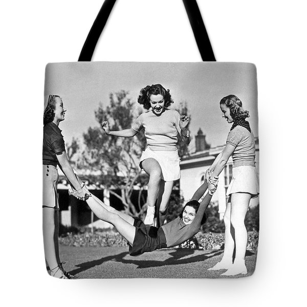 Real College Swingers Tote Bag