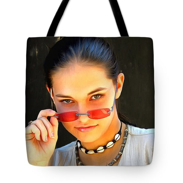 Real Girl Tote Bag