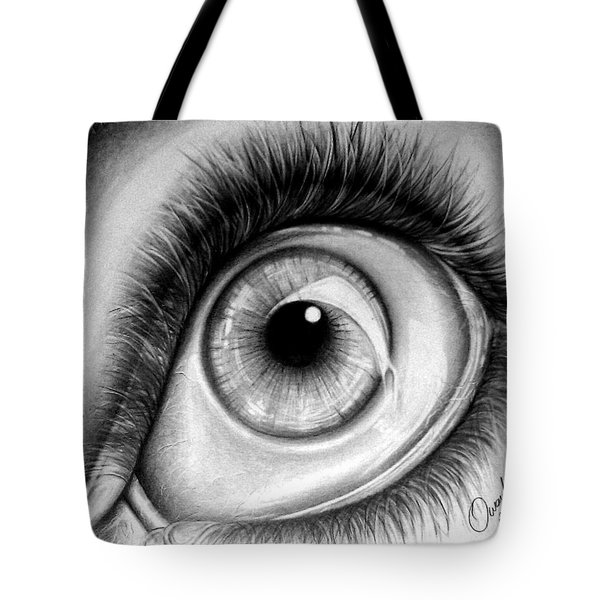 Realistic Eye Tote Bag