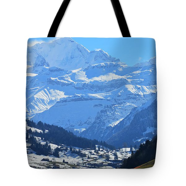 Realm Of Hope Tote Bag by Felicia Tica