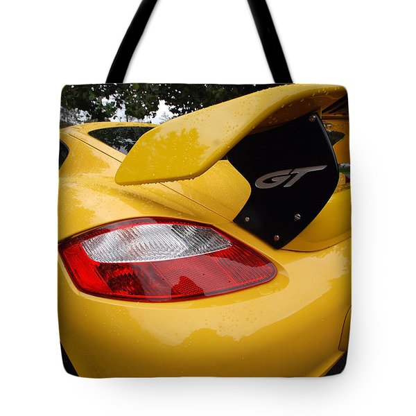 Rear Assets Tote Bag
