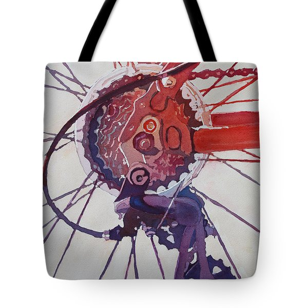 Rear Derailleur Tote Bag
